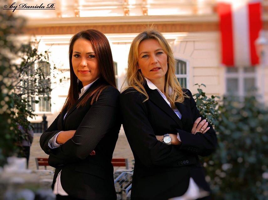 Conni und Stefanie Pail